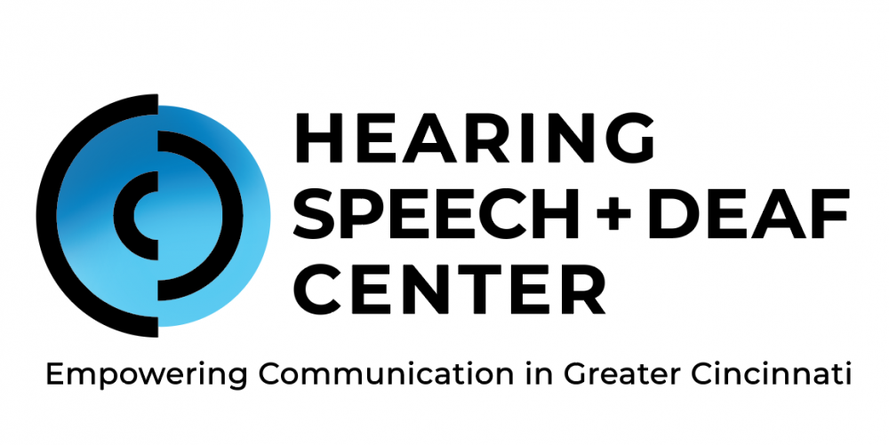 Hearing Speech + Deaf Center Logo